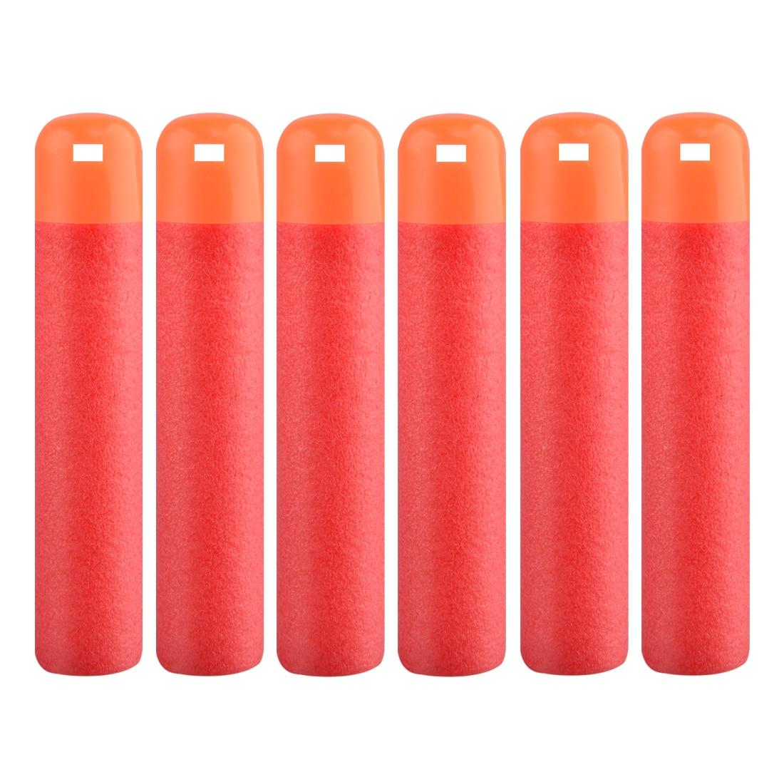 30Pcs/Lot 9.5cm Red Sniper Rifle Darts Christmas Gift Bullets For Nerf Mega Kids Toy Foam Refill Darts Big Hole Head Bullets