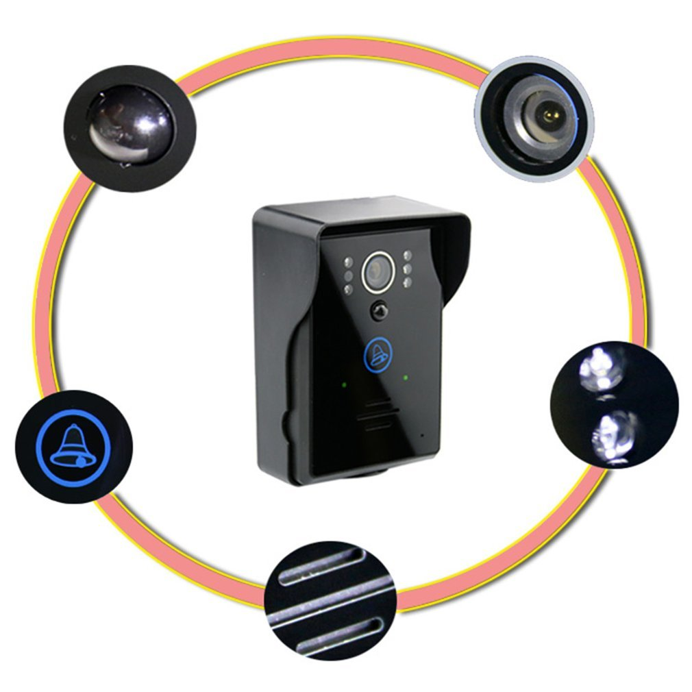 LCD Digital Door Eye Peephole Door Viewer Wireless Video Doorbell Wide Angle Lens Camera Monitor For Home Apartment