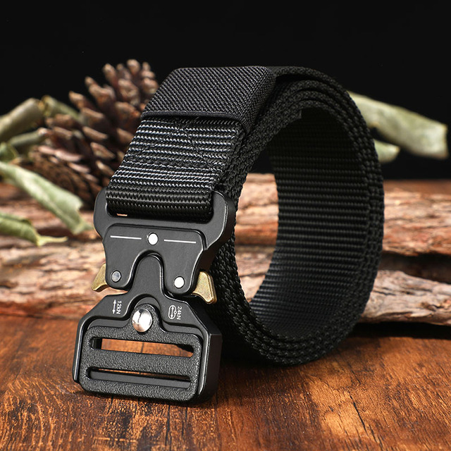 Tactical Military Canvas Outdoor Tactical Belt 1