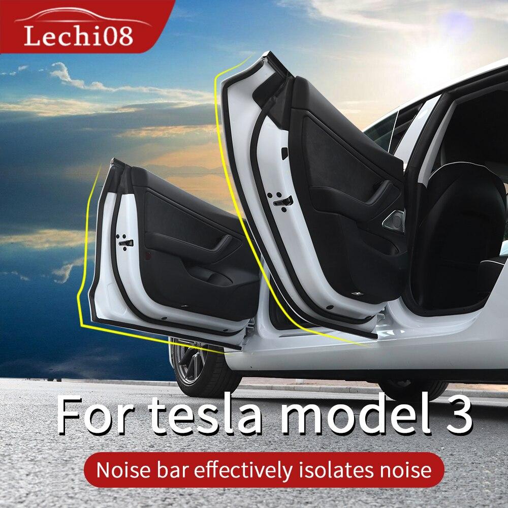 Tira de aislamiento acústico para Tesla model 3 accesorios/accesorios de coche model 3 tesla three tesla model 3 model3