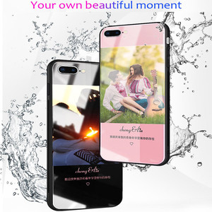 Image 5 - Customized Phone Case For Oppo Reno5 Z Glass Case Customized Picture Name OPPO A95 5G A94 5G F19Pro+ Cover Photo Cases DIY Make