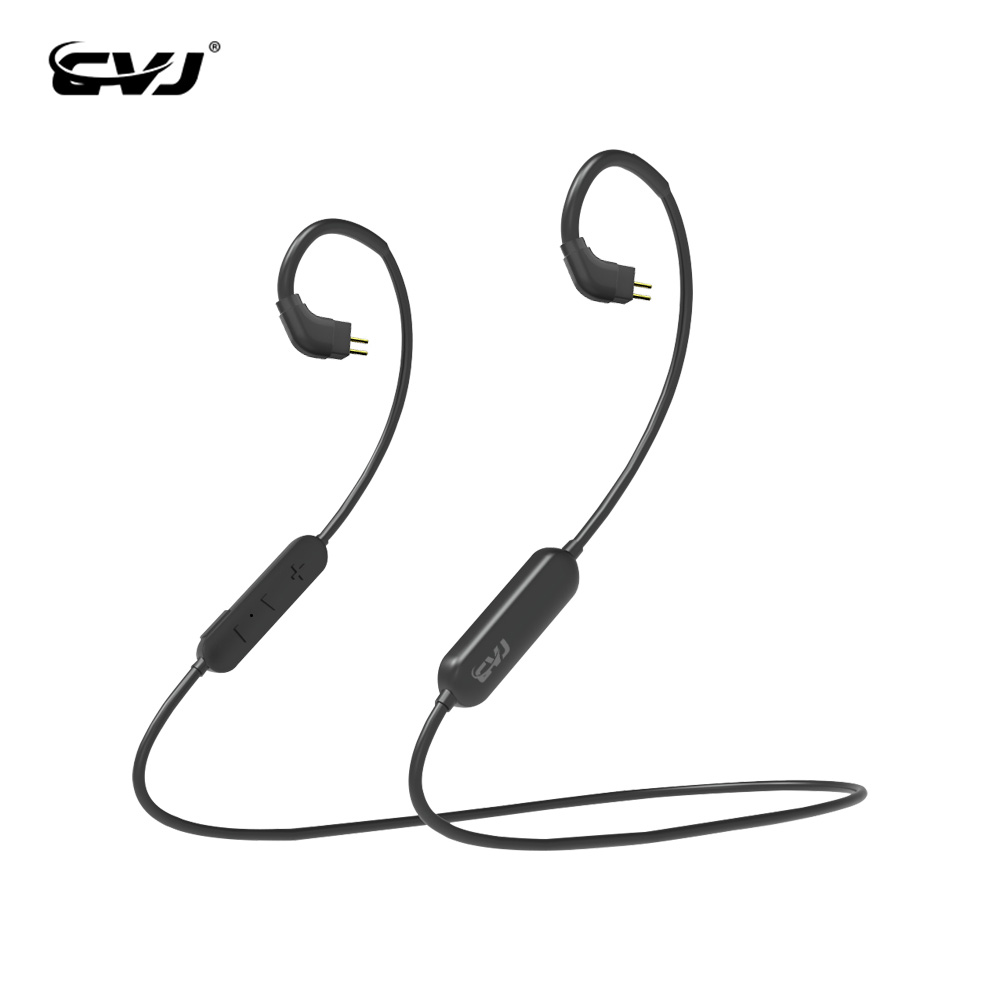 CVJ CT1 Wireless Bluetooth 5.0 Upgraded <font><b>Cable</b></font> Special Aerial Nosie Cancelling <font><b>Cable</b></font> with <font><b>2PIN</b></font> <font><b>0.75mm</b></font>/0.78mm MMCX Connector image