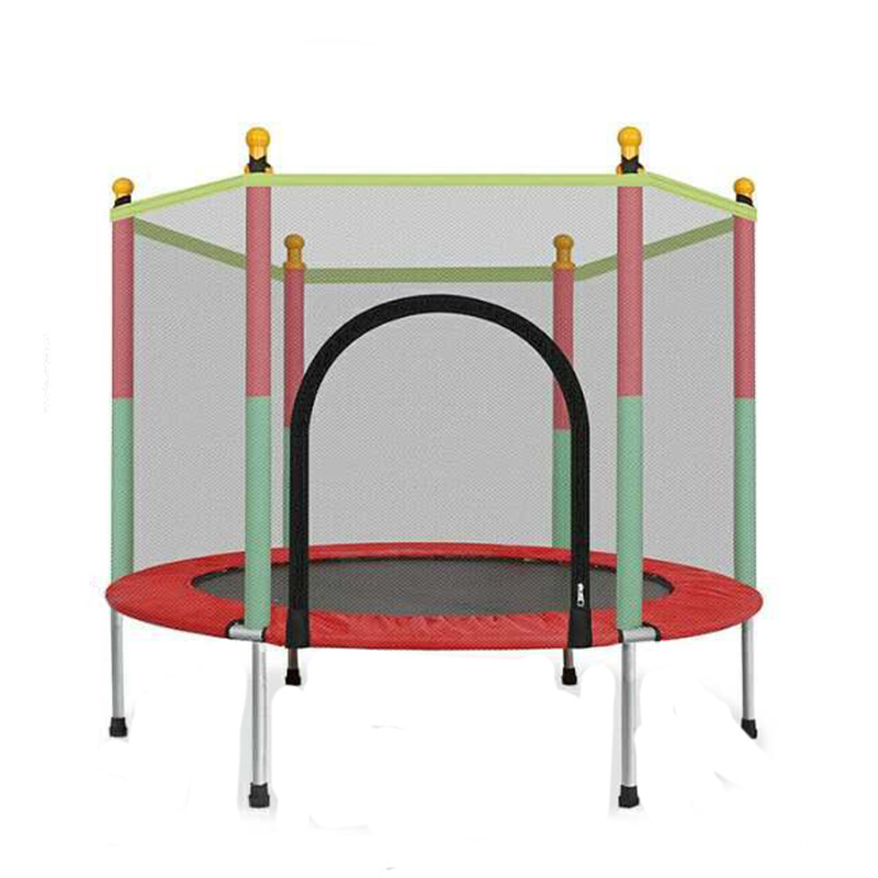 Children's Trampoline Household Children's Indoor Small Babies' Bed With Protecting Wire Net Home Trampoline Children's Factory