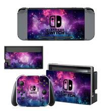 Przełącznik do Nintendo skóra winylowa kalkomania Wrap na przełącznik konsoli Nintendo Joy Con Dock Skin