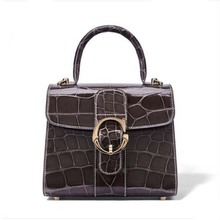 gete  2019 new alligator skin bag for women stylish hand-made crocodile leather American handbag