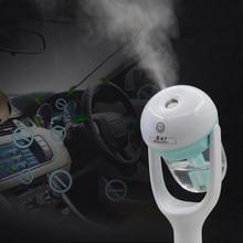 Minihumidificador portátil de 12V CC para coche, purificador de aire, vaporizador de coche, nebulizador de vapor, difusor de aceite esencial