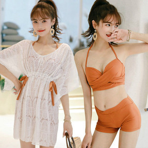 Swimwear For Women Separate Beach Woman Clothes Surf Wear Girls Rash Guard Swimsuit Plus Size Joe Abdomen 200 Jins Fat Three(China)