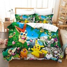 Cartoon Pikachu Bedding Sets…