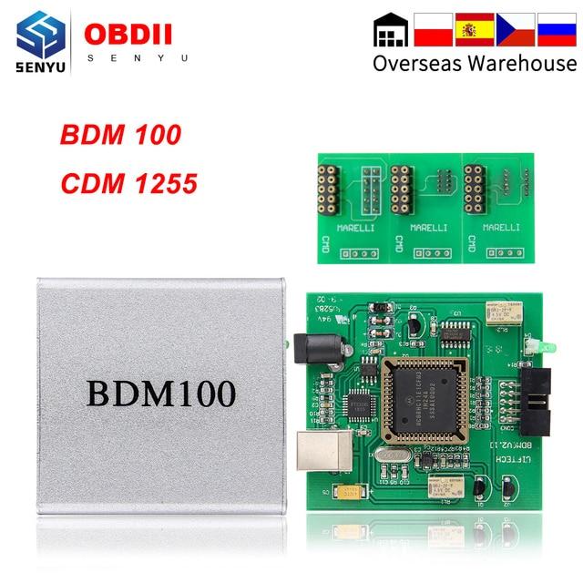 BDM100 ECU Regolazione programmatore di Chip ECU Lampeggiatore Auto ECU Chip Tuning BDM bdm 100 CDM1255 Auto Tunning fgtech v54 BDM 100