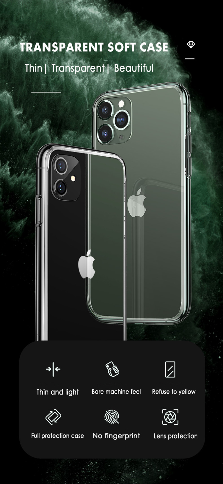 Ultra-Thin case for IPhone 12 Pro Max