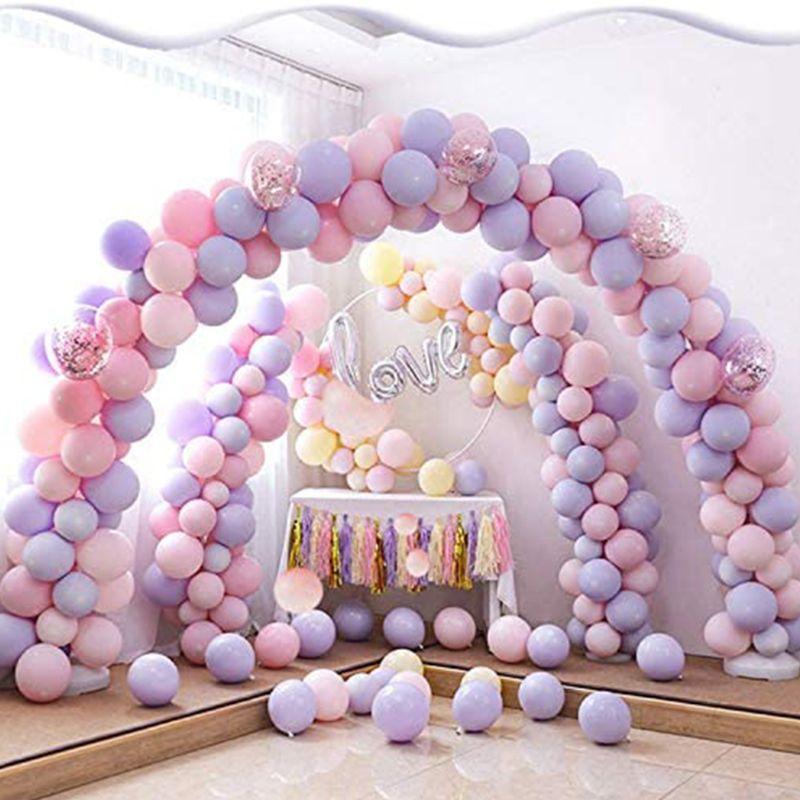Clipes de balão (120 peças), conectores para decoração arco de balão, suporte de coluna de balão d2td