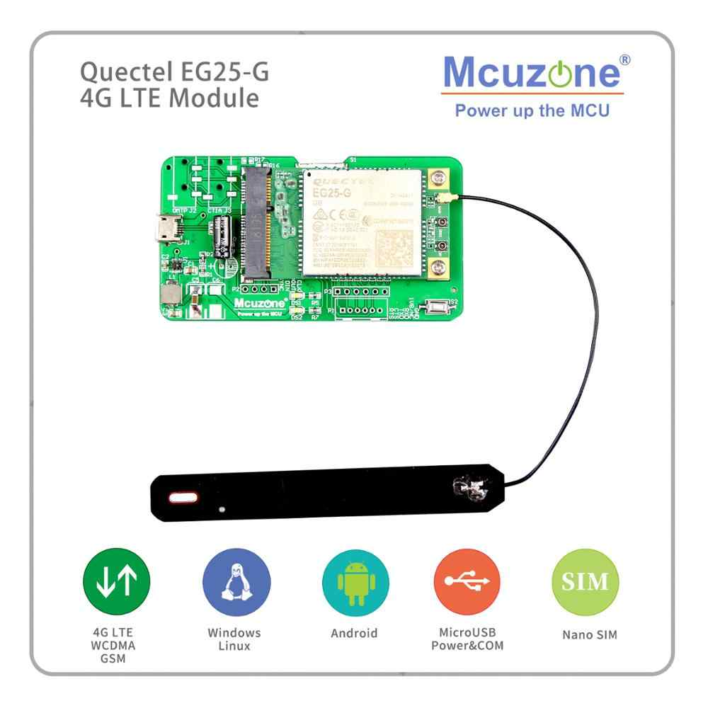 Quectel EG25-G Globale BANDA 4G LTE WCDMA GSM GPRS, per Raspberry Pi Rockchip ARM Android Linux Wince Finestre Quectel EG25-G