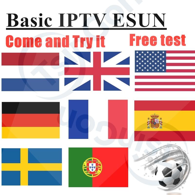 Basic IPTV ESUN IPTV 10000+ Live Free VOD Support Android M3u Enigma2   5000+Vod