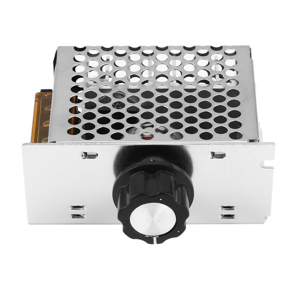 4000W 220V SCR Voltage Regulator Adjust Motor Speed Control Dimmer Thermostat Drop Shipping