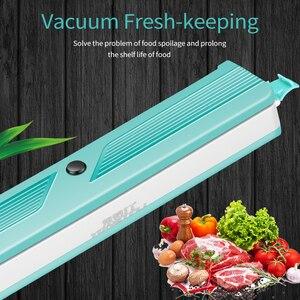 Image 2 - 2020 novo aferidor do vácuo para cozinhas domésticas, adicionar 10 sacos de vácuo, máquina de embalagem de alimentos domésticos