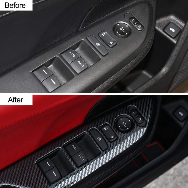 Brushed Steel YelloPro Tesla Model 3 Center Console Decals 3M Wrap Protection Cover Kit