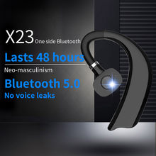 Ear-Hook Bluetooth Earphones Sports Waterproof Smart Headsets Long Standby Time Wireless Headphone With Microphone
