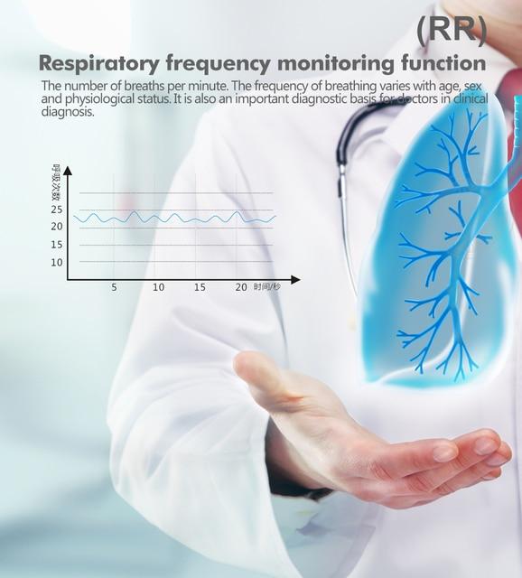 OLIECO Finger Pulse Oximeter Sleep Child Adult SPO2 PR PI RR Monitor Household Blood Oxygen Saturate OLED Oximetro Abnormal Alam 2