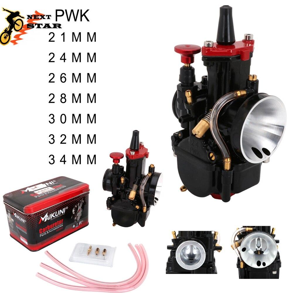 Карбюратор для PWK 21 24 26 28 30 32 34 для Keihin PWK с двигателем Power Jet 2T 4T для скутера UTV ATV Универсальный 50cc-250cc