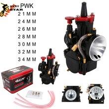 ل PWK 21 24 26 28 30 32 34 ل كيهين PWK المكربن مع الطاقة جيت 2T 4T المحرك ل سكوتر UTV ATV العالمي 50cc-250cc