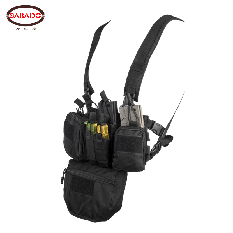 CS Match Wargame TCM  Chest Rig Airsoft Tactical Vest Military Pack Magazine Pouch Holster Molle System Waist Men Nylon