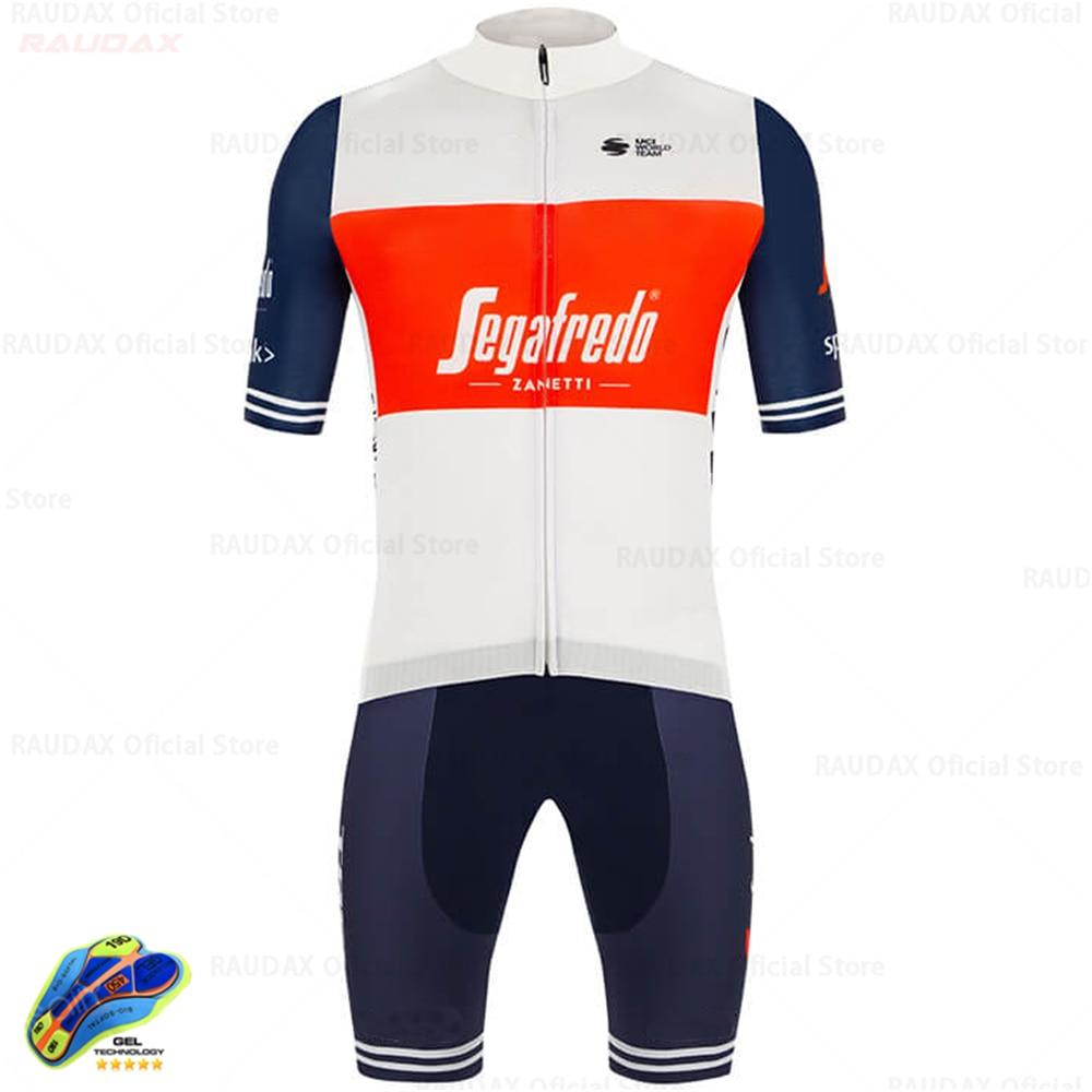 Ciclismo segafredo 2021 pro equipe conjunto camisa de ciclismo roupas de ciclismo dos homens mtb ciclismo bib shorts bicicleta conjunto jérsei ropa ciclismo