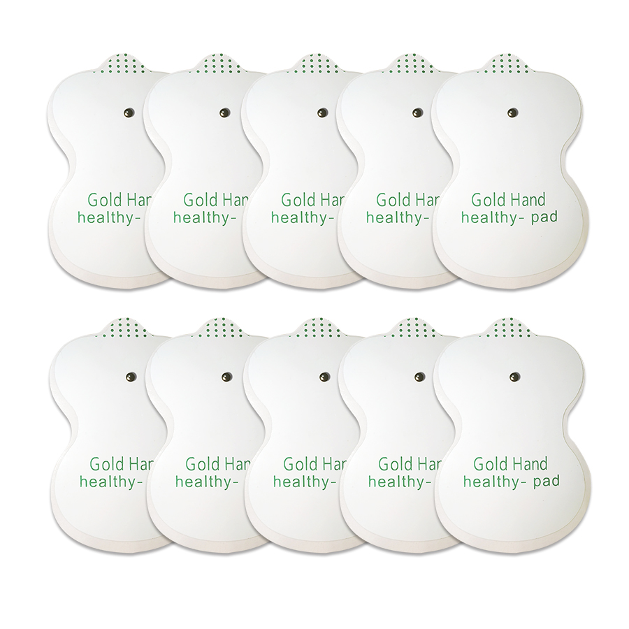 Massager accessories 10 acupuncture electrode pad thin body electric machine body massager bonding pads
