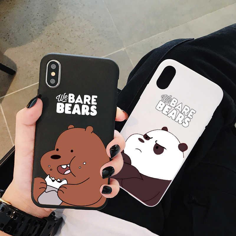 עבור samsung S8 מקרה, חמוד דובים קטנים tpu סיליקה ג 'ל, טלפון מקרה עבור S10 8 6 7 9 בתוספת note8 9 10 בתוספת רך חזרה כיסוי אופן בסיסי