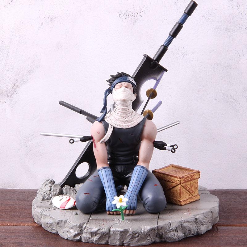 Kirigakure No Kijin NARUTO Momochi Zabuza PVC Action Figure Collectible Model Toy 1