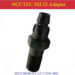 Connecteur adaptateur HILTI DD-BI à 1-1/4 -7 UNC (BS) BI à BS pour convertisseur de Machines à trépans diamantés
