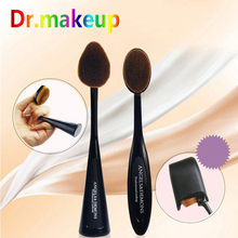 Foundation Powder Brush Water Drops & Oval Shape Toothbrush Cosmetic Beauty Makeup BB CC Make Up Blush Wholesale D