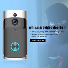 Doorbell Intercom Door-Ring Smart-Phone Wifi Camera Security-Bell Video Wireless