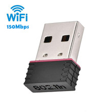 Mini PC 150 Mbps Wireless Adapter 150 m USB 2.0 WiFi Wireless Network Card 802.11 b / g / n 2.4 GHz Network Antenna Receiver(China)