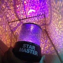 Красивый светодиодный светильник звездное небо домашний планетарий батарея сна проектор лампа светится в темноте Рождественский подарок для девушки