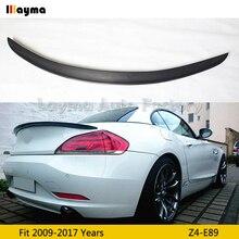 цена на 3D style Carbon Fiber rear trunk spoiler For BMW Z4 E89 sDrive20i 23i 28i 30i 35i 2009-2017 year Z4 3D styling Car spoiler Wing
