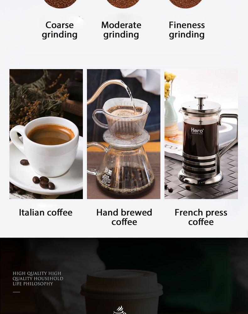 Omnicup moedor de café elétrico mini moedor