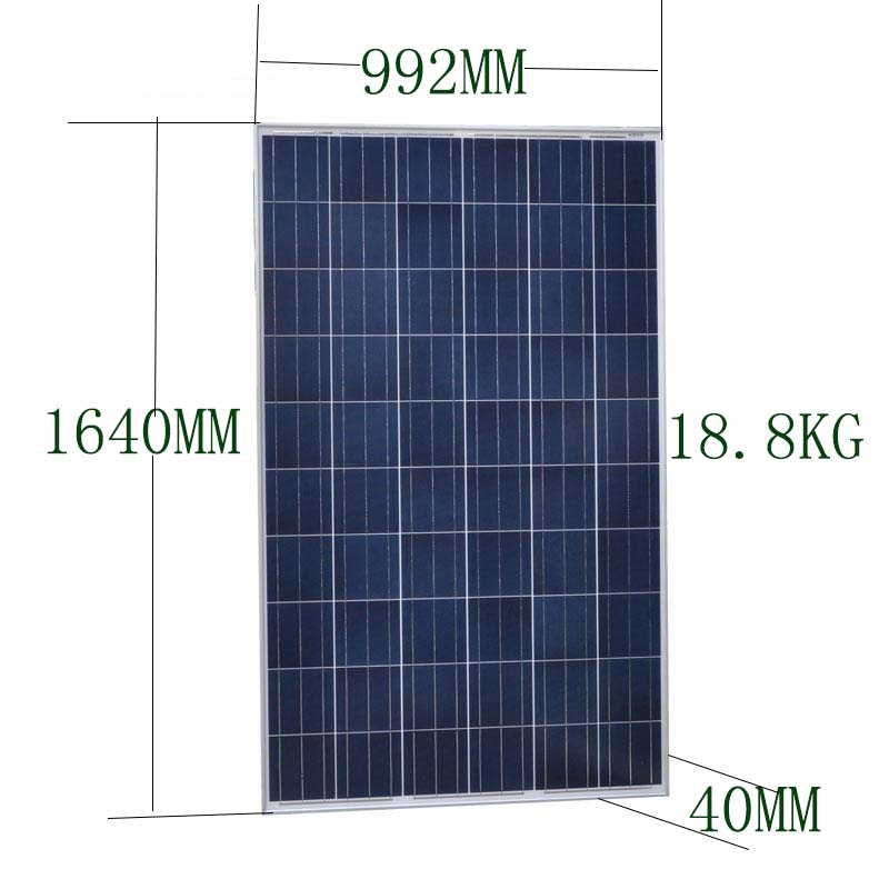 <font><b>Solar</b></font> <font><b>Panel</b></font> 250w 30v <font><b>Solar</b></font> Battery Charger <font><b>Solar</b></font> System 1750W 2000W 2250W 2500W 2750W <font><b>3000W</b></font> Rv Villa House Home Roof Floor Light image