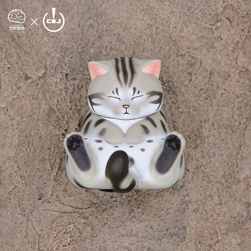 Blind Box Genuine Staring Cats Empty Dreams Creation Cat Bells Popular Tide Hand-made Ornaments Doll Toys