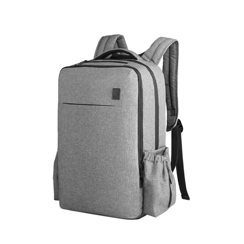 CAI Zipper Heat Preservation School Backpack 15.6 Laptop Back Bag Bottle Mummy Lunch Waterproof Collage Book Bags Anti-Theft image