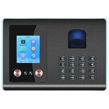 Time-Attendance-Machine Free-Software Time-Clock Fingerprint FA01 Biometric Au-Plug Facial-Recognition