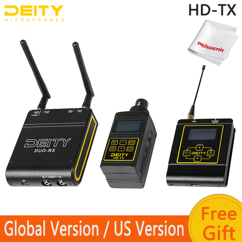 Deity HD-TX Kit Connect Interview Kit 2.4G Wireless Audio System Connect Interview Kit Professional Video Microphone Mic