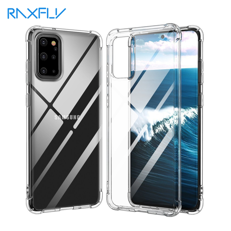 S20 Ultra Case Transparent For Samsung A51 A71 Phone Cases S20 Plus Fundas For Galaxy Note 10 Lite Silicone Clear Cover