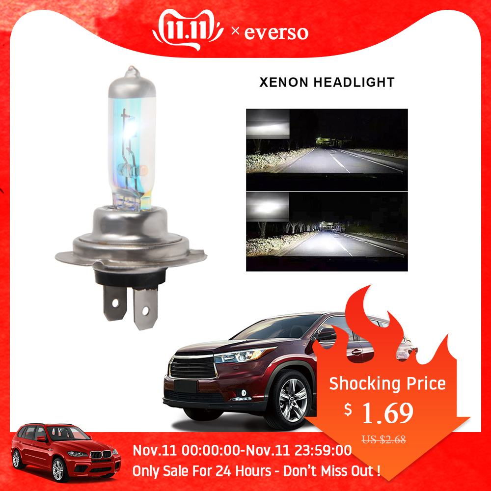 H7 Halogen Headlights Bulb 12V 100W Car Lights Super Bright Fog Light Bulbs For Cars Car Accessories Headlights Lamp H7 Bulbs
