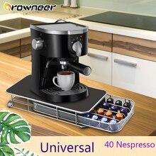 Rack Drawer Display-Organizer Coffee-Pod-Holder Nespresso 40pcs Metal Space-Saving Elegant
