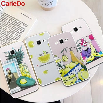Carie-Lemon 2 Silicon Soft TPU Case Cover For Samsung Galaxy Core Grand Prime Neo Plus 2 G360 G530 I9060 G7106 Note 3 4 5 8 9 image