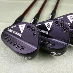 Golf clubs black 113T skull golf wedges 50-60 loft R SR S X Graphite shaft send head cover free shipping