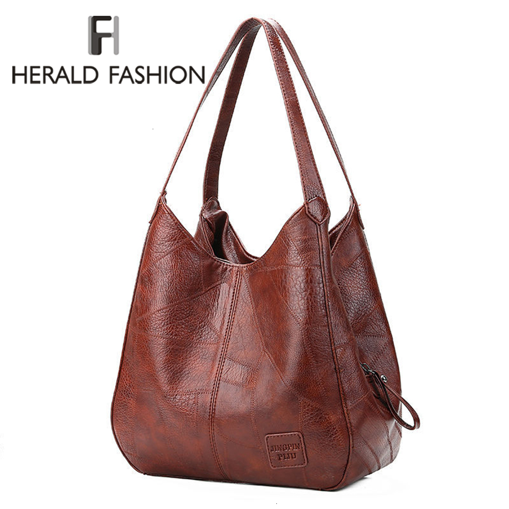 Vintage Women Hand Bag Designers Luxury Handbags Women Shoulder Bags Female Top-handle Bags Fashion Brand Handbags Casual Totes