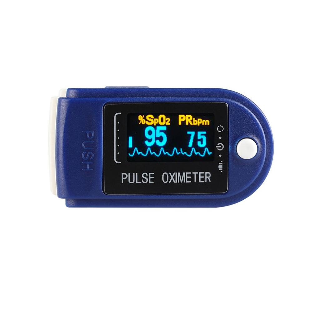 Finger Oximeter Oxygen Saturation Monitor Blood Oxygen MonitorLow Battery Voltage Heart Rate Blood Finger Pulse Oximeter