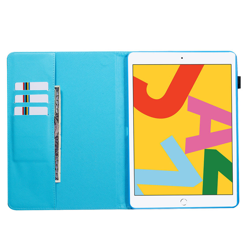 2019 For Funda 10.2 Apple A2200 A2232 for Cover Generation iPad iPad Case Skin Smart 7th