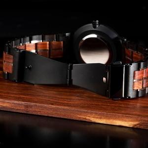 Image 4 - レロジオ masculino 2020 ボボ鳥男性クォーツ腕時計木製腕時計時計ギフト木箱 V S19